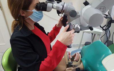 Los Dres. Escudero&Perea han asistido al X Edición del Curso de Microscopio Dental